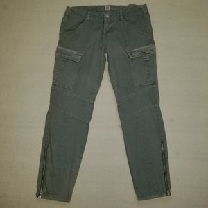 Almost Famous zippered cargo pants sz 13